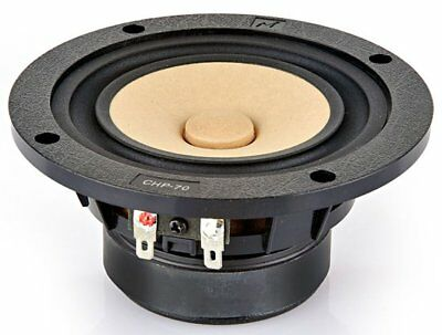 """Markaudio CHP-70-P 4"""" Full Range Paper Woofer Natural Matched Pair"""