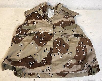 1983 Usgi Military Desert Storm Chocolate Chip Pattern Pasgt Vest Cover