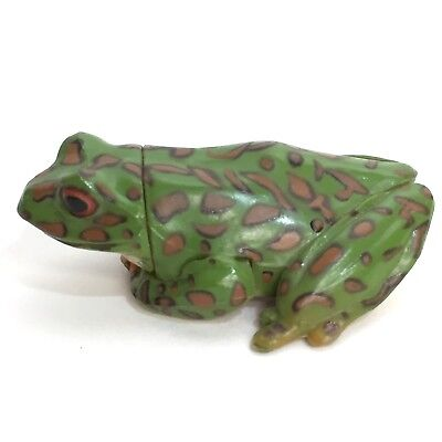 Choco Egg Miniature Figure Forest Green Tree Frog Furuta Kaiyodo Japan