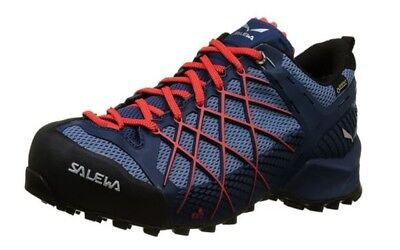 SALEWA MEN WILDFIRE S GTX Hiking Technical Approach Shoe Size 9 ... 482c0e9e70f