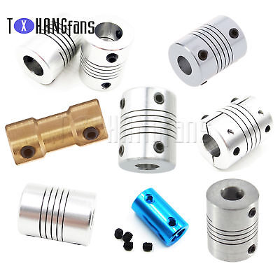5x8mm-8x12mm CNC Motor Jaw Shaft Coupler 5mm to12mm Flexible Coupling Gadget