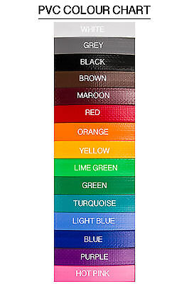 Handmade PVC Horse Vet/Mare ID Collars - 25mm wide - 15 colours!!!