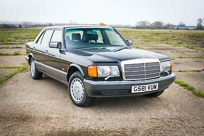 1990 Mercedes-Benz W126 420SEL - 80,000 Miles, Full Service History