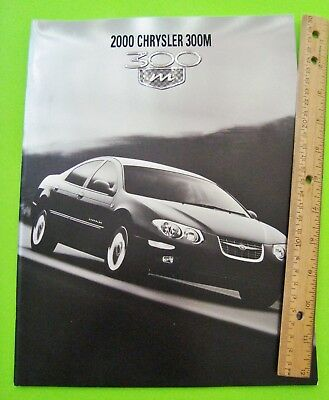 2000 CHRYSLER 300-M HUGE PRESTIGE CATALOG Brochure 32-pgs XLNT