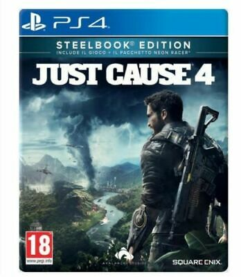 Just Cause 4 - Steelbook Limited Edition Ps4 Gioco Eu Play Station 4 Italiano