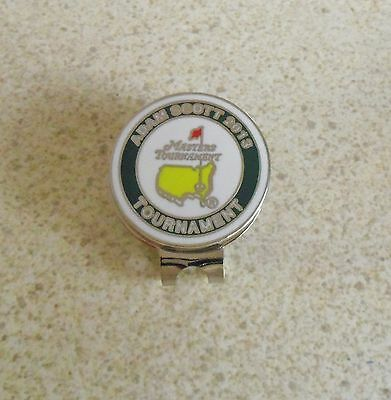 1 Only Adam Scott Us Masters 2013 Tribute Golf Ball Markers And Classy  Hat Clip