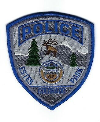 Estes Park (Larimer County) CO Police SUBDUED SWAT patch - NEW!