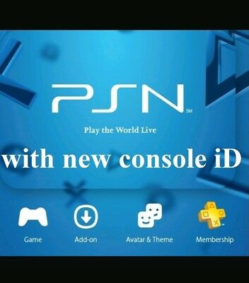 PS3 Console ID's / CID/ unban LIMITED TIME AT £6.89 Today 100% PRIVATE & TRUSTED