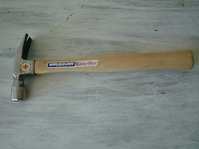 """Vaughan No. 9 10 oz. """" LITTLE PRO"""" Rip Hammer (11"""" Hickory Handle) Made USA NEW"""