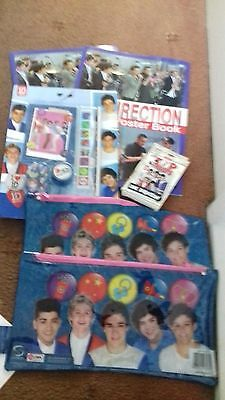 ONE DIRECTION JOB Lot Of Merch/Stationary Etc - £8 99