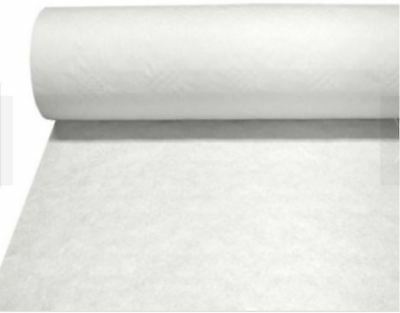 25m Wedding Party Table Buffet Banqueting Banquet Roll White Paper Brand New