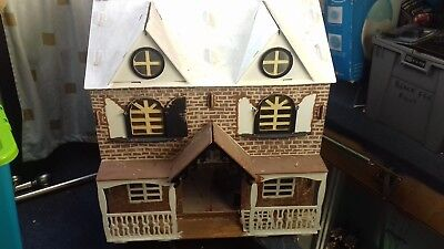 Wooden Doll House With Furniture & Accessories (project piece)