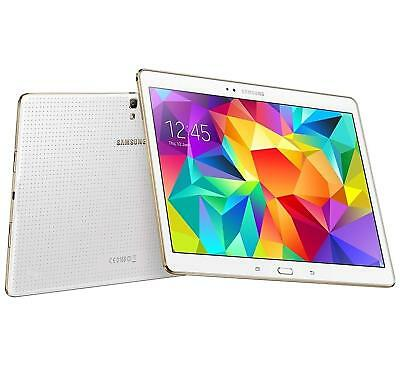 Samsung Galaxy Tab S 10.5 SM-T807V Verizon Unlocked 16GB White Grade D (Z3E)