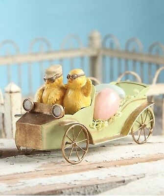 Bethany Lowe Easter Chicks In Car TD5007 New