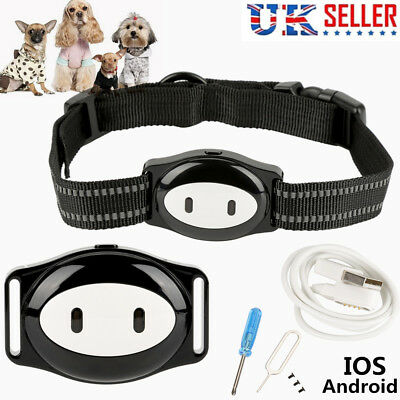 Pet GPS Tracker Cat Dog Anti-Lost Android Real Time Monitor Locator Necklace