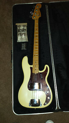 Fender  Precision Bass Olympic White 1973
