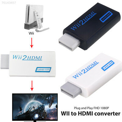 B901 Wii To HDMI Full HD 1080P Video Audio Converter Adapter Dongle Wii2HDMI