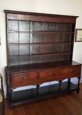 18th Century English or Welsh Cupboard