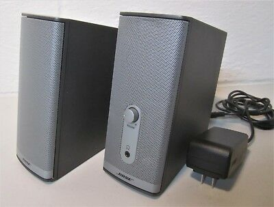 Bose Companion 2 Series II media iPod iPhone Computer Speakers- MAKE OFFERS!