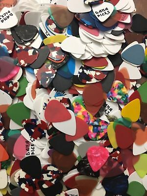 5, 10, 25, 50, 75 or 100 Assorted Guitar Picks for Acoustic or Electric lot