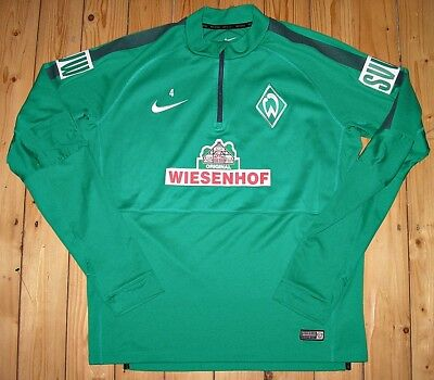 Nike WERDER BREMEN II Trainings-Zipper 2014/15 #4 SVW Half Zip Top
