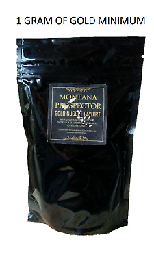 2 Lb Gold Paydirt 100% Unsearched Pay Dirt Montana 1 Gram Minimum