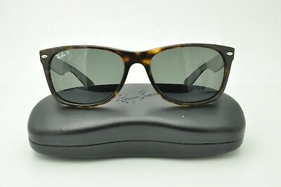 f0222297d0 Ray Ban RB 2132 New Wayfarer Sunglasses 902 58 Tortoise   Green Polarized  55mm