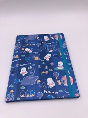 Sanrio Original: Notebook With Elastic Band: Pochacco (D2)