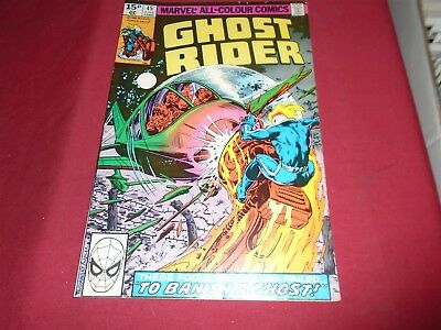 GHOST RIDER #45 Marvel Comics 1980 VF
