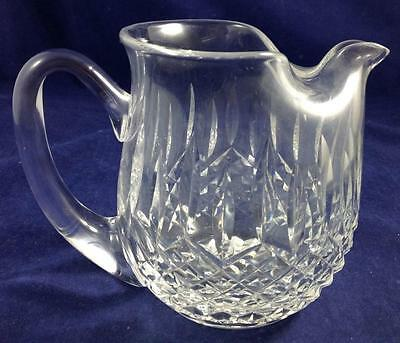 """Waterford LISMORE Jug with ice lip 5 1/8"""" height GREAT CONDITION"""