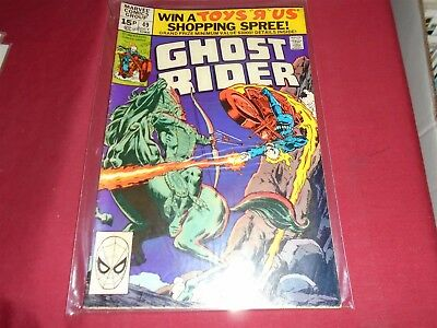 GHOST RIDER #49 Marvel Comics 1980 VG/FN