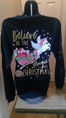 Simply Southern Long Sleeve T: Believe in the Magic of Christmas (Unicorn)