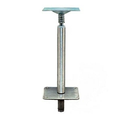 Springfield Aluminum / Stainless 3/4 Inch Boat Seat Post W/ Base Mount Spring
