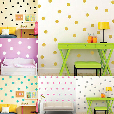 Polka Dots Wall Sticker Baby Nursery Kids Room Decals Home Party DIY Decor