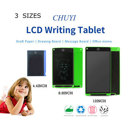 4.4/8.5/12inch LCD Writing Pad Painting Drawing Tablet Message Writer Board