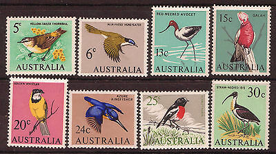 1966 Australian Native Birds (8) / Decimal / MUH