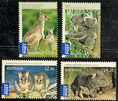 2009 Bush Babies / Set of 4 Stamps  / muh