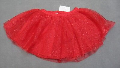 Girls size 2T Gymboree Christmas Red Tutu Silver Sparkle Diaper Cover RV $35 NEW