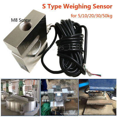 Load Cell Scale Weighing Sensor Pressure Force Measuring 5/10/20/30/50kg Hopper