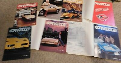 Lot of 22  Vintage Corvette News Magazine - Between 1981 to 1985 -Some Near MINT