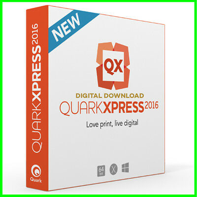 QuarkXPress 2016 - For Windows 🔸 Digital Download