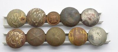 Russian Imperial Different Uniform buttons 19-20 Century