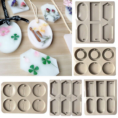 3D DIY Silicone Candle Insert Mold Fondant Chocolate Cake Cupcake Soap Mould
