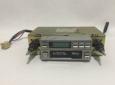 Kraco ETR-1081-D AM/FM Stero Cassette Player Electronic Tuning Reciever