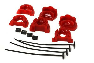 Energy Suspension Motor Halter Inserts Honda Civic EG D-Series Rot