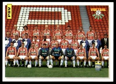 Panini Voetbal Cards 94 PSV Eindhoven Team Photo No. 105