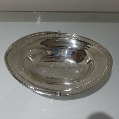18th Century Antique George III Sterling Silver Cake Basket London 1790 Hennell