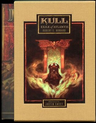 Kull: Exile of Atlantis. Signed & Slipcased Hardback.329/1500