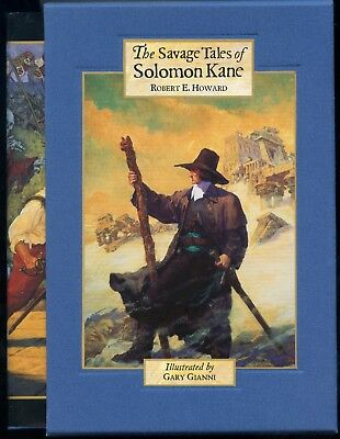 The Savage Tales of Solomon Kane. Signed & Slipcased Hardback. 893/1050