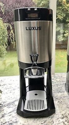 USA MADE!  Fetco® Luxus® 1.5Gallon L3D-15 Commercial Coffee Dispenser Stainless